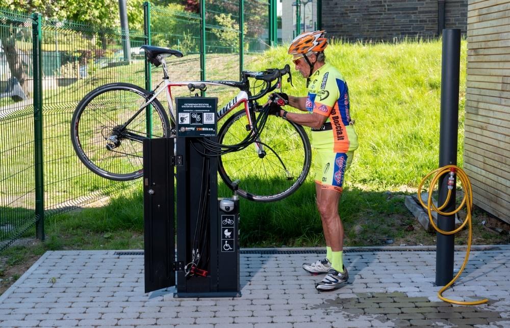 Bike wash gratuit vaux-sur-sûre 1